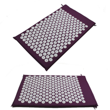 Massager pad Mattress Pain Relieve Acupressure Cushion Mat Relieves Stress, Back, and Sciatic Pain Massage