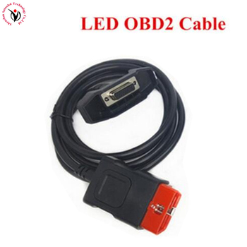 OBD II Cable LED OBD2 Cable CDP OBDII Replacement Suitable for CDP /VD TCS CDP PRO PLUS LED OBD Cable CDP Parts фото