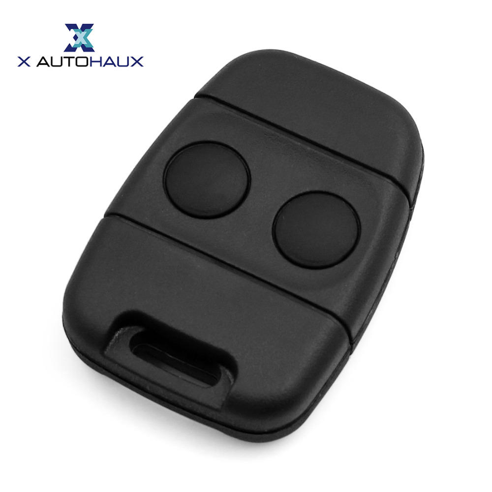 X AUTOHAUX 2 Buttons Key Shell Replacement For Land Rover Discovery 1 Defender Freelander