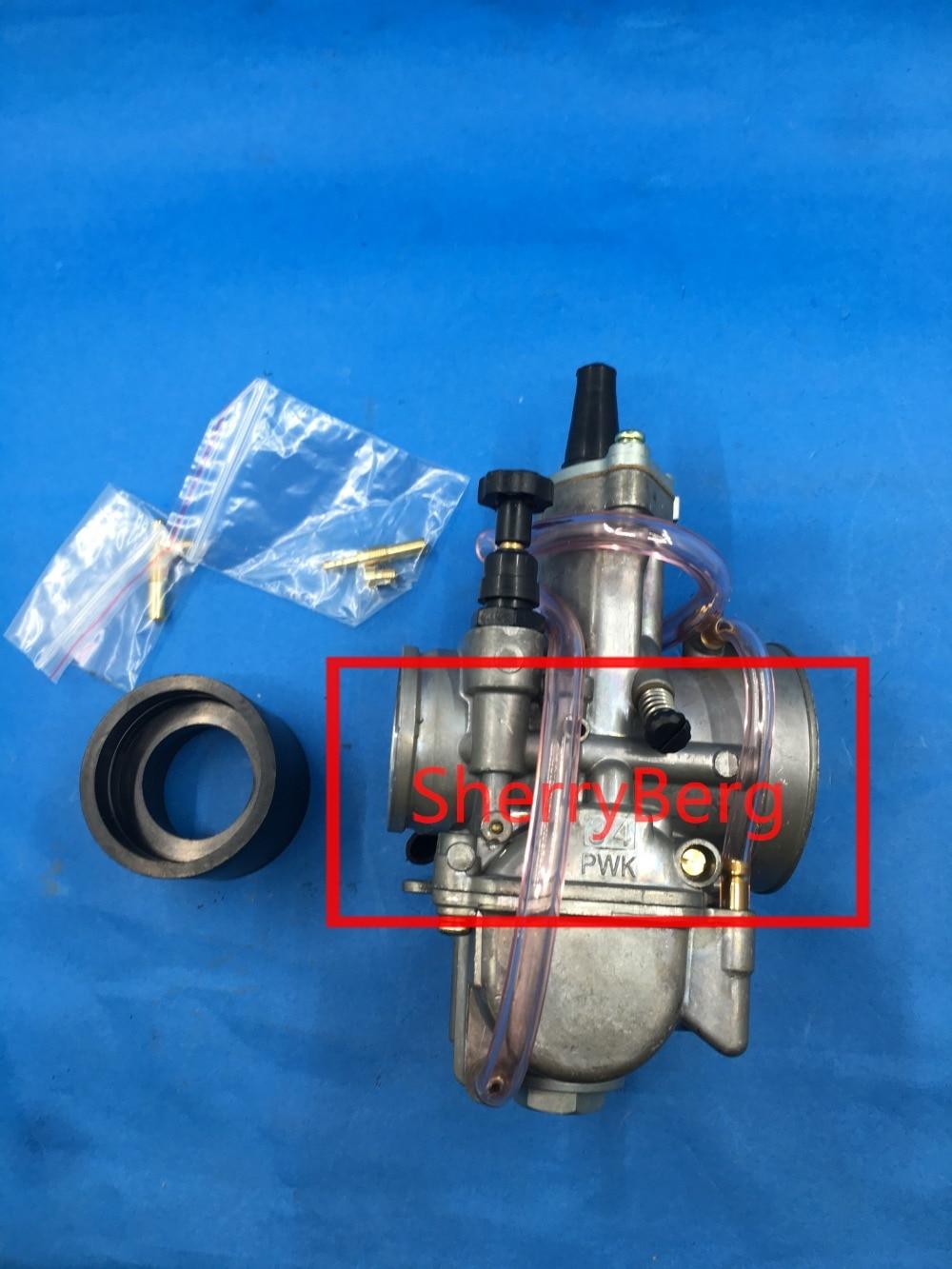 NEW 34MM Power Jet Carburetor Carb replace MIKUNI PWK OKO 34 Dirt Bike ATV carburettor carb universal fit for honda ktm .