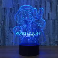 Light One Piece 3D LED Lamplight Gifts Babylights Desk lamp