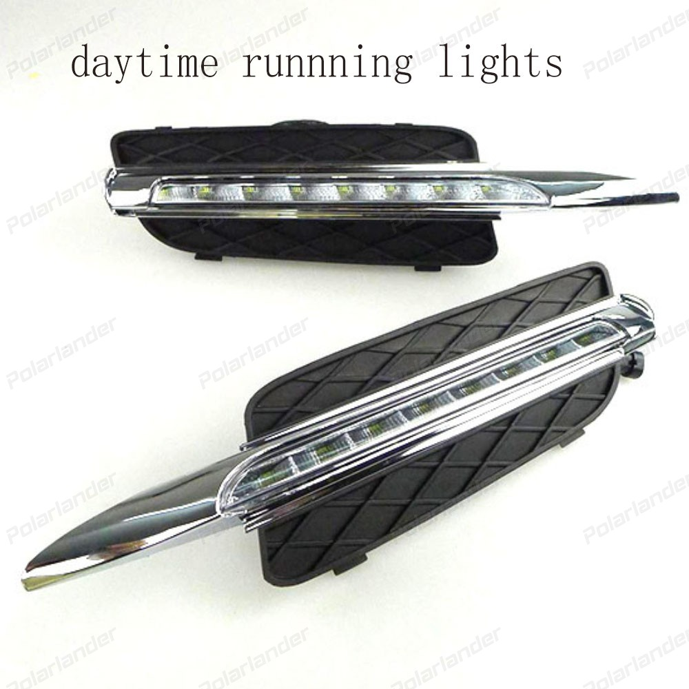 1 pair Daytime Driving Running Light Daylight Waterproof car styling For B/MW X5 E70 2007-2010 LED DRL