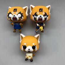 Funko pop Secondhand Sanrio: Aggretsuko-Retsuko с Бензопилой Виниловая фигурка Коллекционная модель свободная игрушка