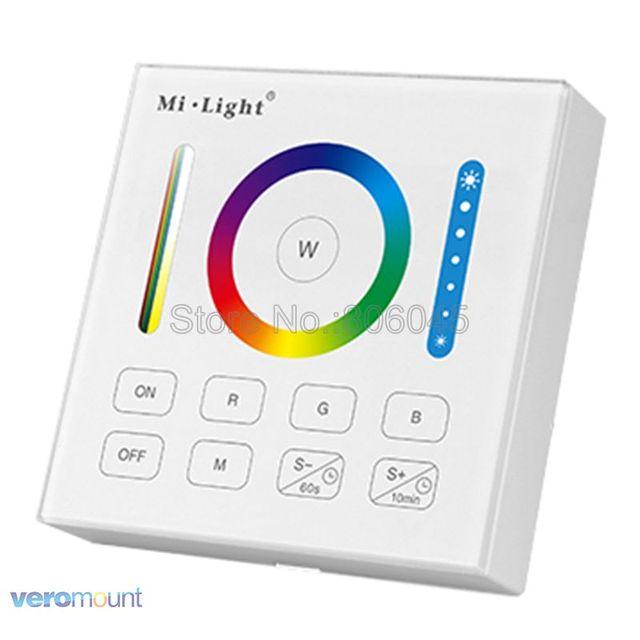 Mi.Light B0 لوحة ذكية عن بعد RGB + CCT RGB RGBW المراقب المالي مع Ti mi ng وظيفة ل FUT043 FUT044 FUT045 Mi وحدات تحكم الضوء
