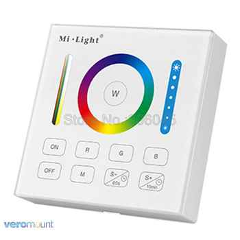 Mi.Light B0 Smart Panel Remote RGB+CCT RGB RGBW Controller with Timing Function for FUT043 FUT044 FUT045 Milight Controllers - DISCOUNT ITEM  15% OFF All Category