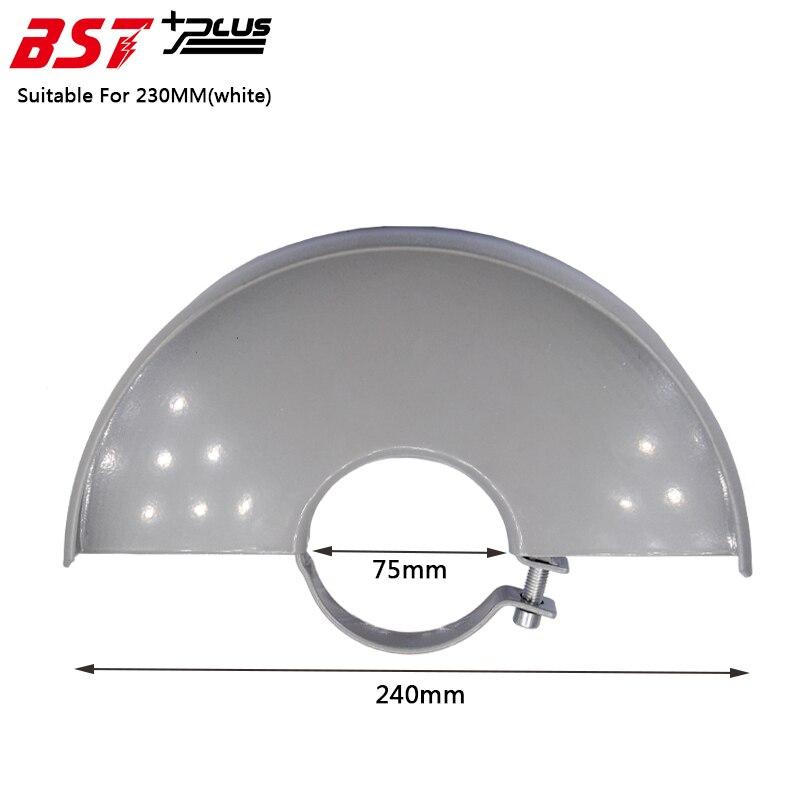 Couvercle de Protection de Protection de roue en métal blanc pour meuleuse d'angle 230 MM, Accessoires d'outils électriques, pièces de rechange