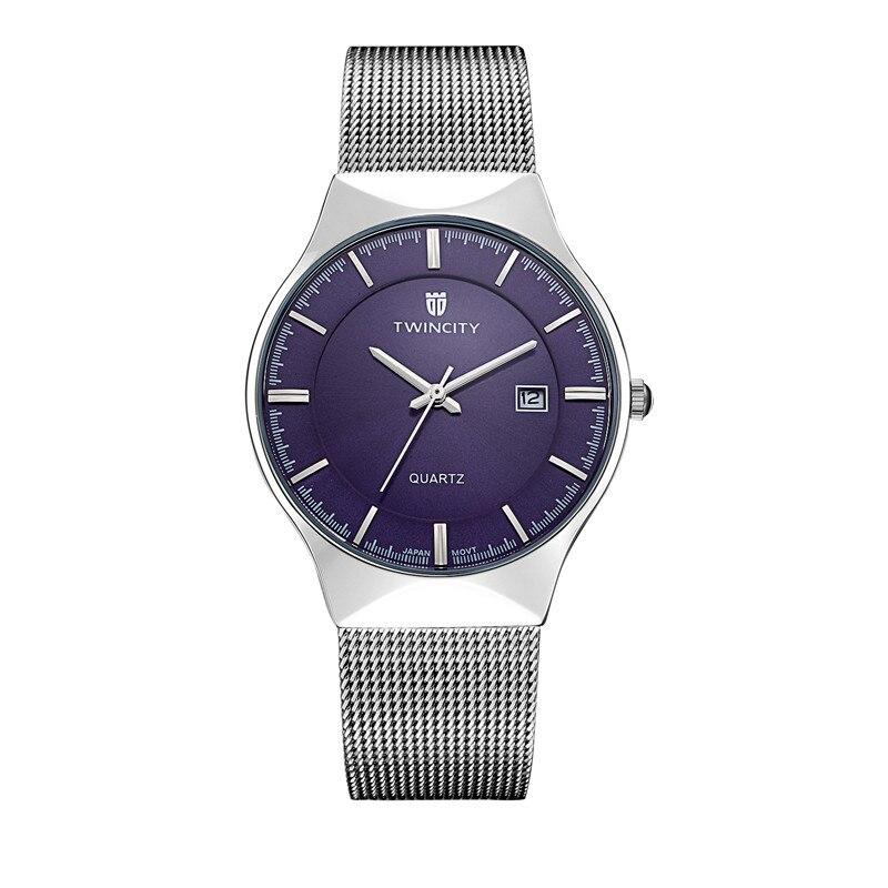 twincity luxury brand watches quartz ultra thin