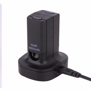 Image 2 - Xbox360 조이스틱 듀얼 충전기 기본 충전 스테이션 도킹 2 충전식 배터리 4800mAh xbox 360 컨트롤러 게임 패드
