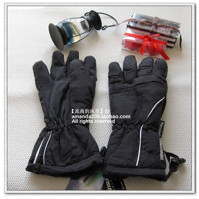 40gram shirley 3m thinsulate outside sport motorcycle skiing male gloves g239