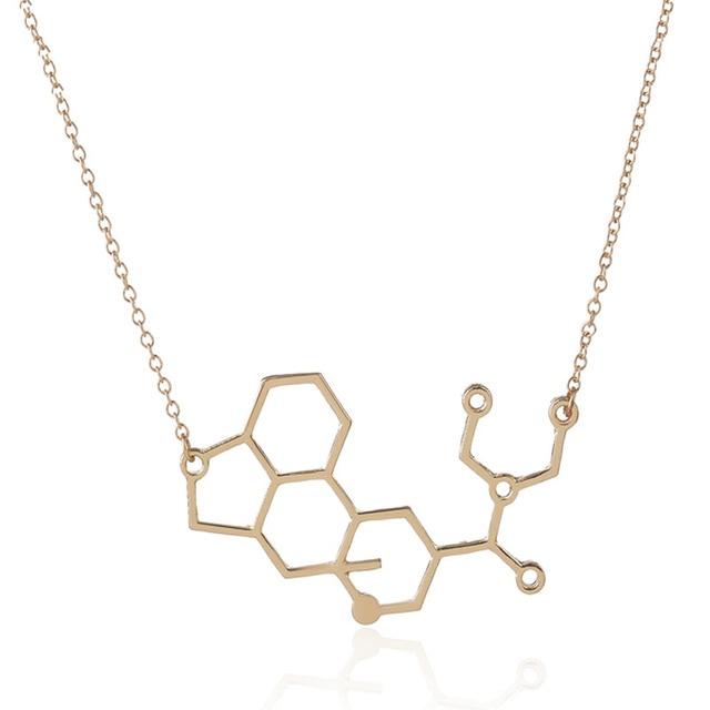 Wholesale jewelry 10pc molecule lsd brass pendant necklace mix color wholesale jewelry 10pc molecule lsd brass pendant necklace mix color chemistry science women and men couple aloadofball Images