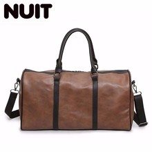 Men And Women Travelling Bags Duffle Carry-on Bag Pu Leather Female Fashion Luggage Organizer Bagsmart Ladies Travel