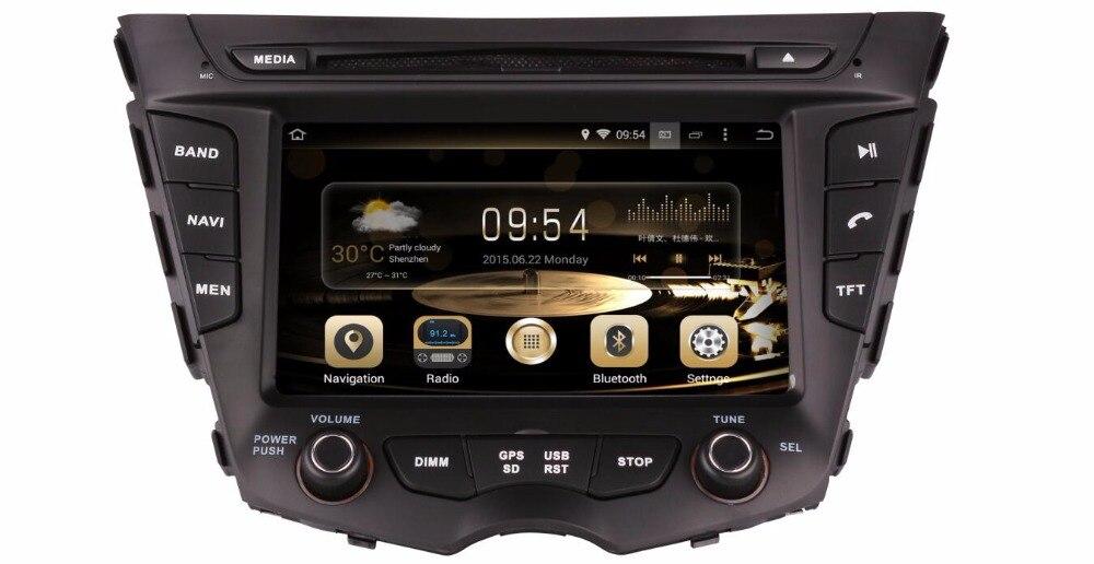 7.1.1 Dois Din Android 7 de Polegada de Dvd Do Carro Para HYUNDAI Veloster 2011-2016 RAM 2G ROM 16 GB GPS de Navegação Rádio FM WIFI OBD DVR