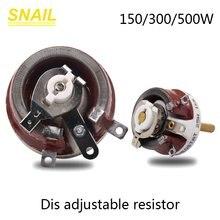 Реостат высокой мощности BC1 150 Вт 300 Вт 500 Вт, вращающийся резистор с переменной проводной обмоткой, высокое качество, форма диска, регулируем...