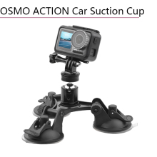 Car Suction Cup Holder for DJI Osmo Action Mount Strong Sucker 1/4 Screw Adapter Sport Camera Accessories
