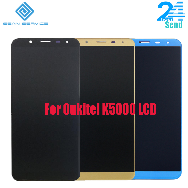 For 100% Original Oukitel K5000 LCD Display+Touch Screen Assembly Tested LCD Digitizer Glass Panel Replacement 5.7 inchFor 100% Original Oukitel K5000 LCD Display+Touch Screen Assembly Tested LCD Digitizer Glass Panel Replacement 5.7 inch