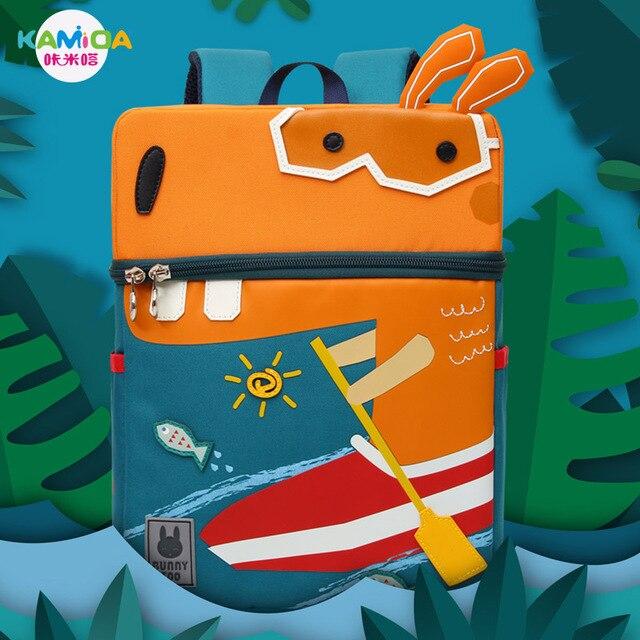 de71fe83f1fa Cute Toucan Tiger Zebra Design Kid Rabbit Sheep School Bag Kindergarten  Cartoon Dog Backpack Preschool for