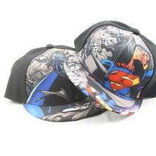 Children baseball cap Fashion Iron Man Captain Superman Batman, Spider-Man One Piece Snapback Hats Children Boys Hip-Hop Hat