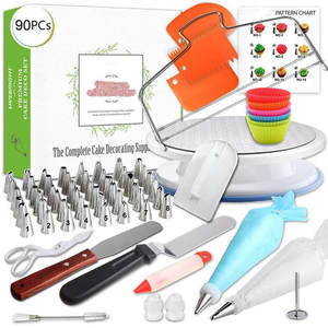 GZTZMY Pastry-Bag Tips Cake-Decorating-Tools Piping-Nozzles Icing Lot 90pcs Confeitaria