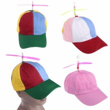 Gorra de béisbol del padre-niño bebé niñas verano libélula de bambú  sombrero Patchwork( 0f08f955167