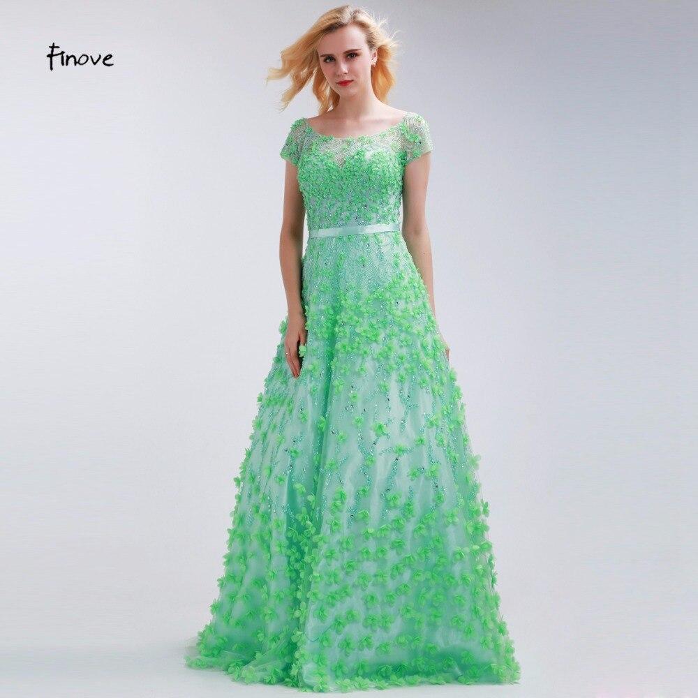 Grass green prom dress - Fashion dresses