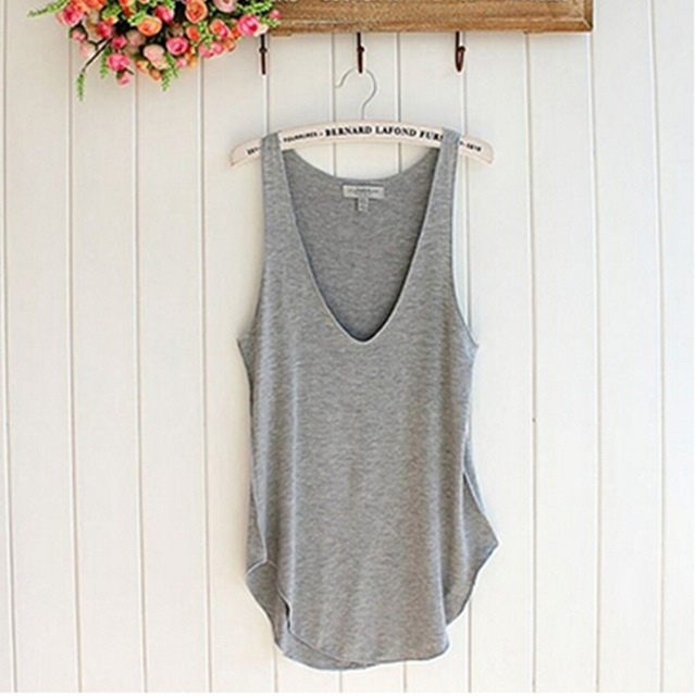 Women's V-Neck Tank Tops