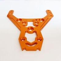 CNC Alloy 6mm Front Upper Plate for 1/5 ROVAN KM HPI BAJA 5B 5T 5SC RC Car Upgrade Parts