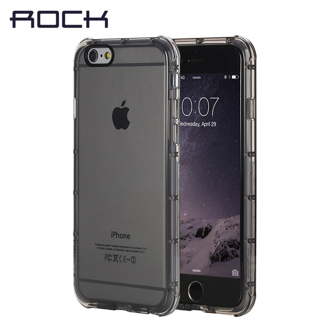 info for 53f33 30886 US $10.7 |ROCK Original Fence Series for iPhone 6 plus cover Thick  Transparent Slim Shockproof Protective Shell Phone Case Clearance 49%-in  Fitted ...