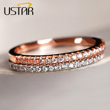 AAA Zircon Crystals Wedding Rings for Women