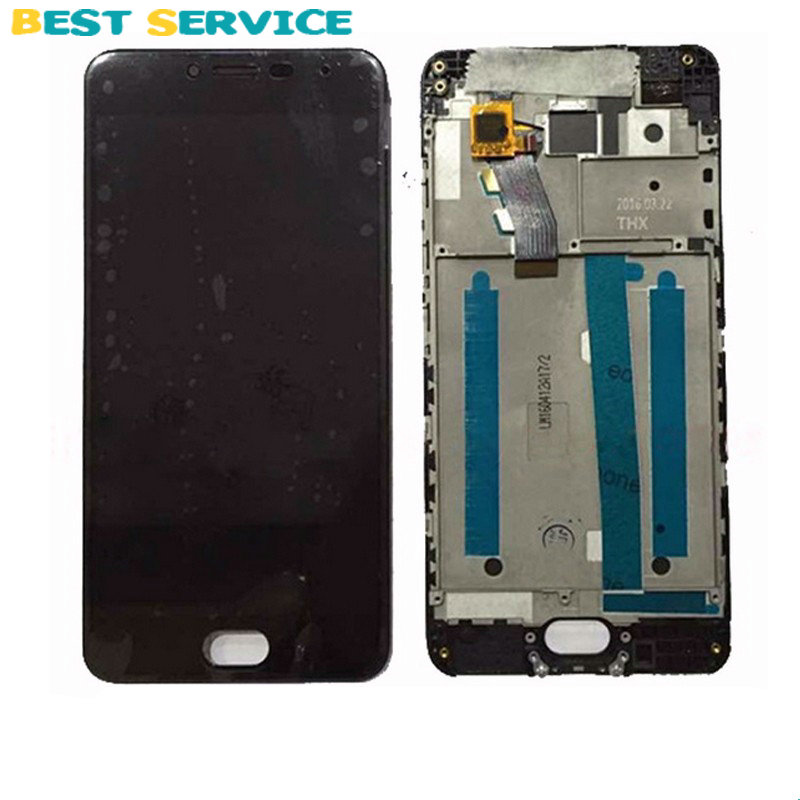 For Meizu Meilan 3 LCD Screen Display + Touch Screen Digitizer Assembly with Frame Black Free Shipping