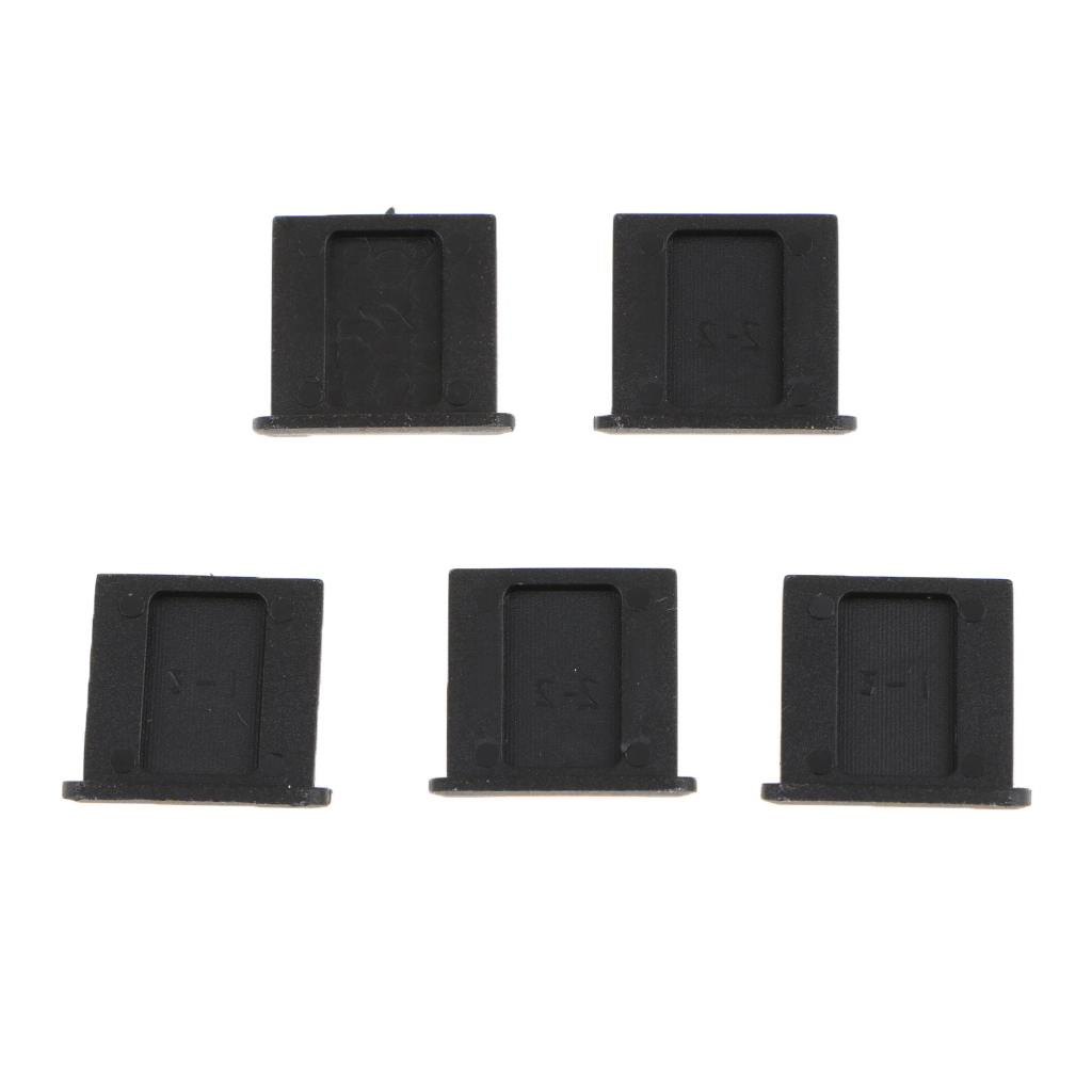 5Pcs Plastic Hot Shoe Hotshoe Protector Cover Cap for Nikon Canon Protection Protective Cover Camera Accessories in Len Caps from Consumer Electronics