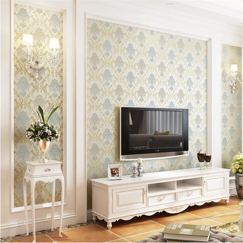 Beibehang papier peint European film and television wall, sofa, TV background, wall paper, guest 3D, non woven wallpaper kitred5f740unv21200 value kit rediform guest check book red5f740 and universal copy paper unv21200