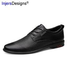 Big Tamanho Sapatos Homens Moda Embossing 46 Mocassins de Couro Macio Sapatos Casuais Homens de Negócios Sapatos de Couro Genuíno Zapatos De Hombre