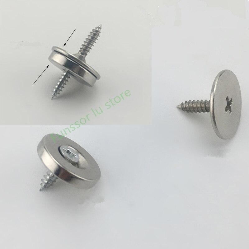 Раздвижные двери всасывания микро сильное магнитное поглощение, широкий спектр применения, круглые магниты с отверстием, мебельное оборудование Замки шкафов      АлиЭкспресс