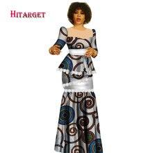 af53be570ef4 Hitarget 2019 Nuovo Della Stampa Della Cera Africana Vestiti per Le Donne  Dashiki Tradizionale di Cotone