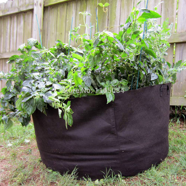 10 gallon planting bags 2016 New Planting Bag plant Pots for Potatoes tomatoes ve able Balcony