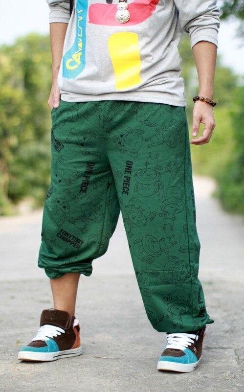 Мужские весенние тонкие спортивные штаны для бега, повседневные штаны в стиле хип-хоп, свободные штаны в стиле хип-хоп, уличные танцы, шаровары для мужчин размера плюс 5xl - Цвет: green
