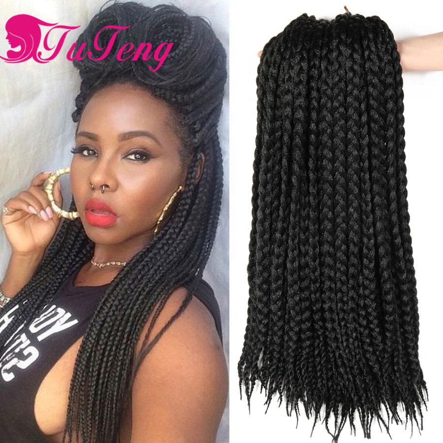 Crochet braids BOX Braids hair Hhavana mambo twist box braid extensions styles 14inch Popular ...
