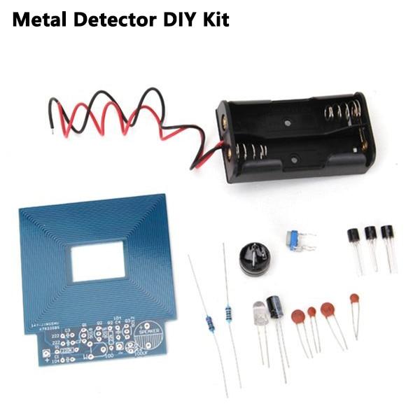 DIY Metal Detector Kit Treasure Hunting Instruments