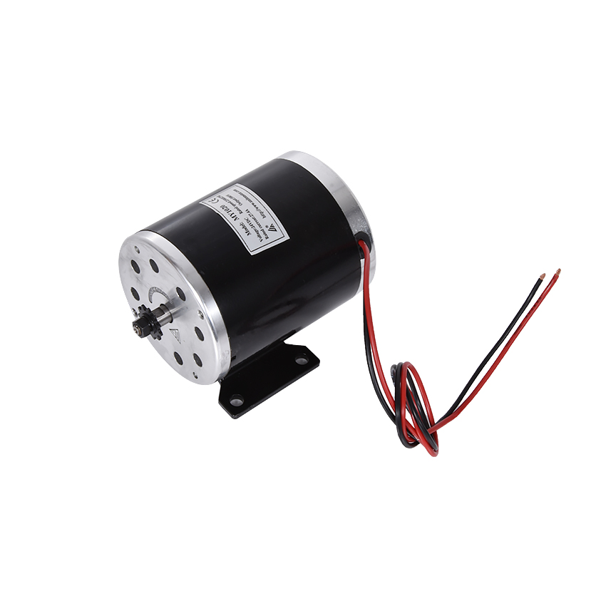 цена на 500W 24V, 36V, 48V motor, electric tricycle brush motor, DC brushed motor with lower plate, MY1020 electric motor Scooter