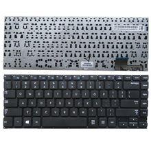 QH GZEELE New English US tastiera del computer portatile per Samsung NP530U4B 530U4C 535U4C 520U4C 532U4C 535U4B 535U4X NERO