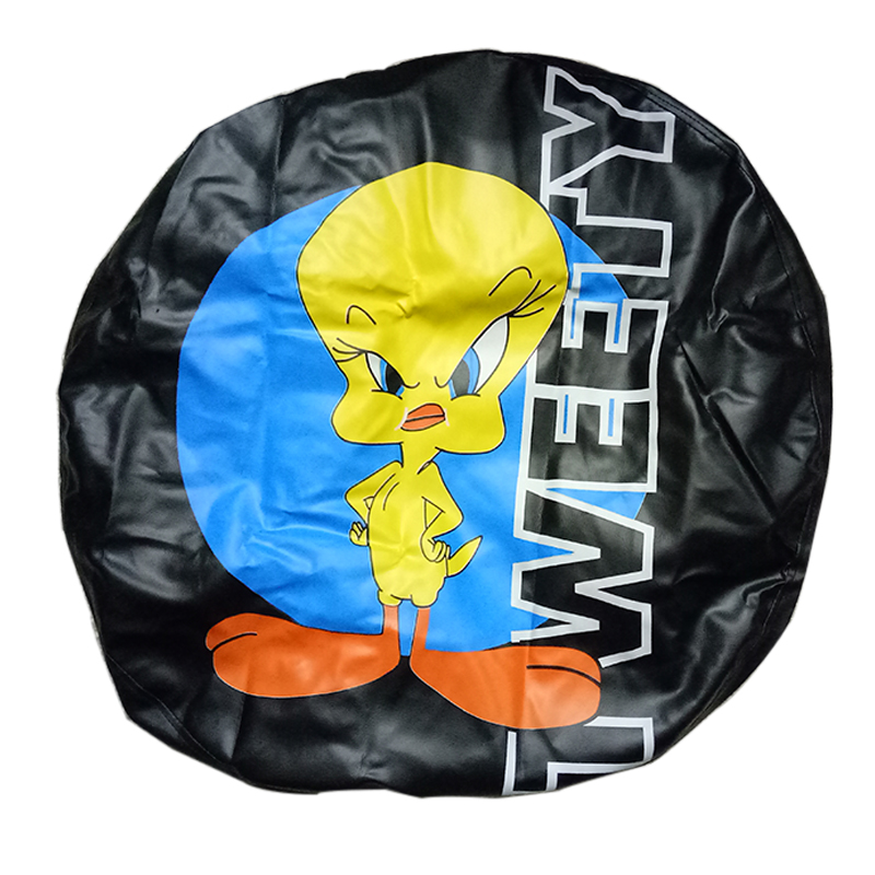 Free Shipping Factory Price Universal PVC PU custom wheel Tyre Cover Spare Tire cover Wheel Accessories