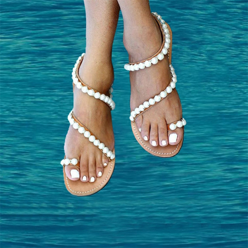 ФОТО 2017 Fashion National Style Women Sandals Shoes Women Sandals Foreign Trade Comfort Sandals Summer Flip Flops High Quality Flat