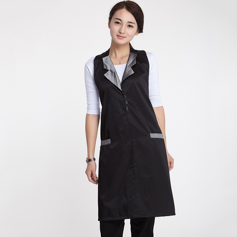 Hairdresser Working Clothes with Collar Salon Barber Hairdressing Apron Gown Styling Cover Cape Waist Belt Adjustable Wrap UN873Hairdresser Working Clothes with Collar Salon Barber Hairdressing Apron Gown Styling Cover Cape Waist Belt Adjustable Wrap UN873