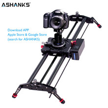 ASHANKS Bluetooth Carbon Camera Slide Follow Focus Motorized Electric Control Delay Slider Track Rail for Timelapse Photography(China)