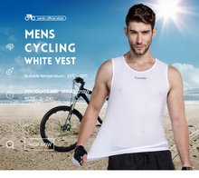2015 Santic Men Bicycle Cycling Jersey White Reflective Vest Team Sky Clothing Sleeveless MN15011W