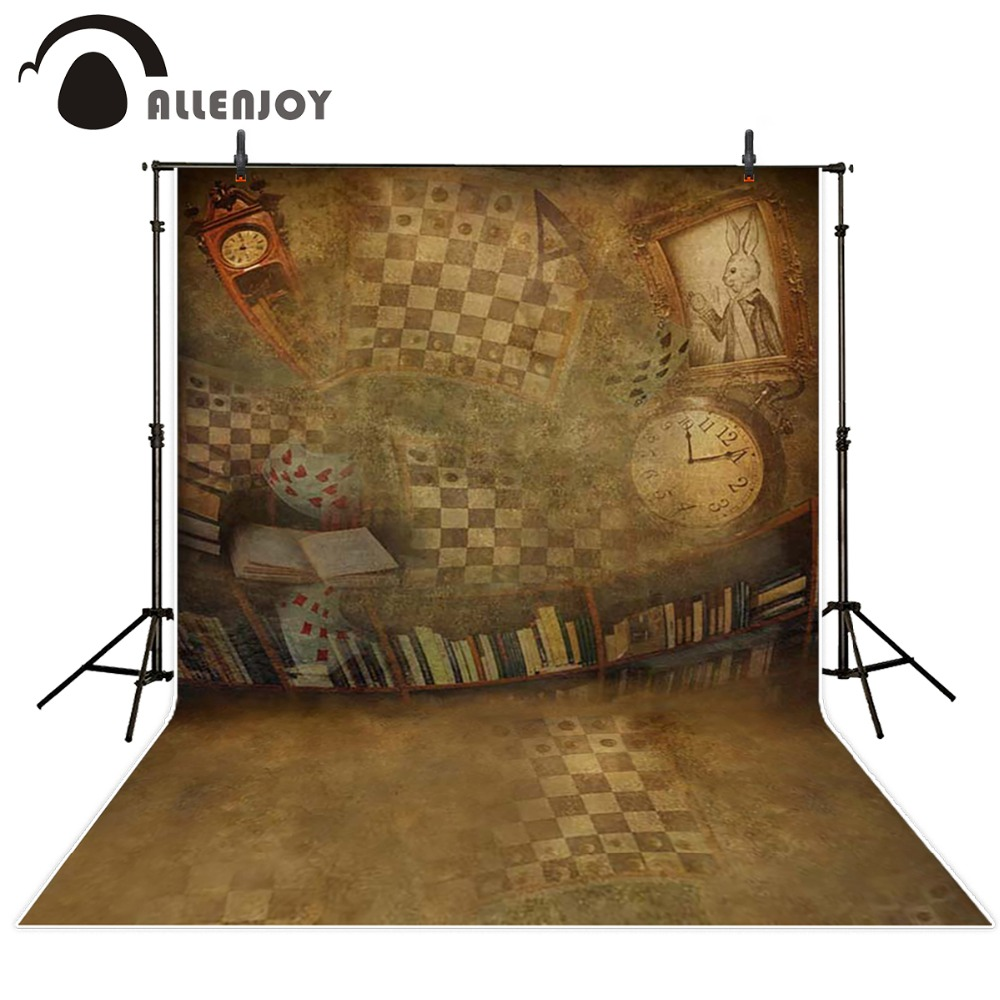 Photography background Abstract retro pattern newborn boy vinyl computer printed Allenjoy backdrops