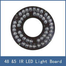 High Quality &5 48 LED IR illuminator Light Board Plate For CCTV Security Camera , Cheapest Price and Free Shipping