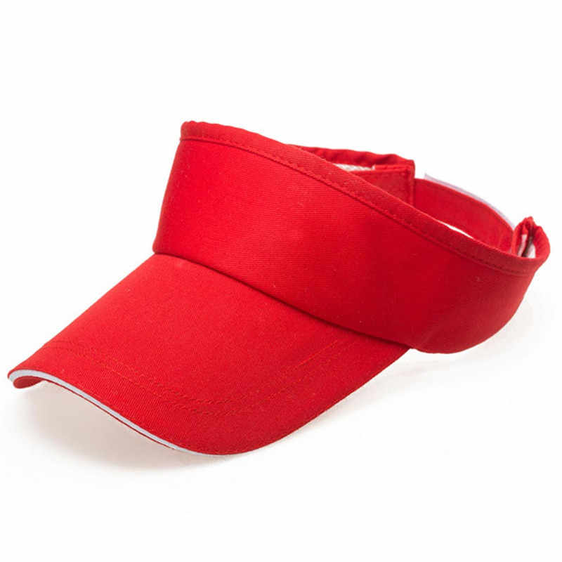 Caps for Men Women running cap Summer breathable outdoor sunshade  Visor Sun Plain Running