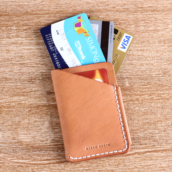 511a2ff3948055 100% Italian Vegetable tanned leather handmade credit card holder with gift  package-in Card & ID Holders from Luggage & Bags on Aliexpress.com |  Alibaba ...