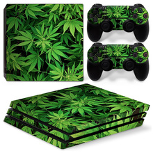 Vinyl decal protective skin sticker for PS4 Pro new models colorful designs